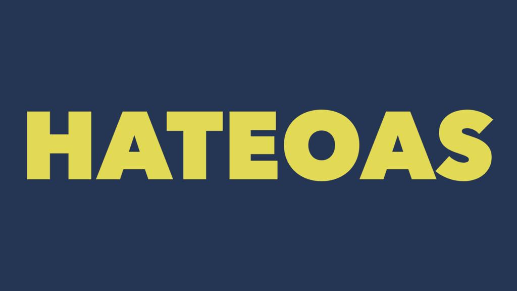 HATEOAS