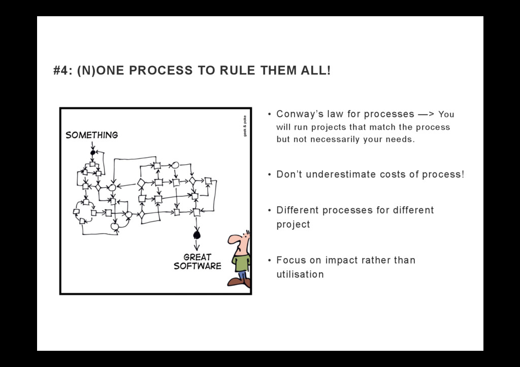 •  Conway's law for processes —> You will run p...