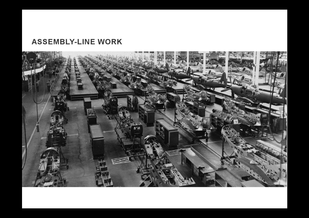 ASSEMBLY-LINE WORK