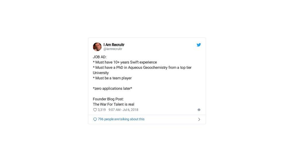 I Am Recruitr I Am Recruitr @iamrecruitr JOB AD...