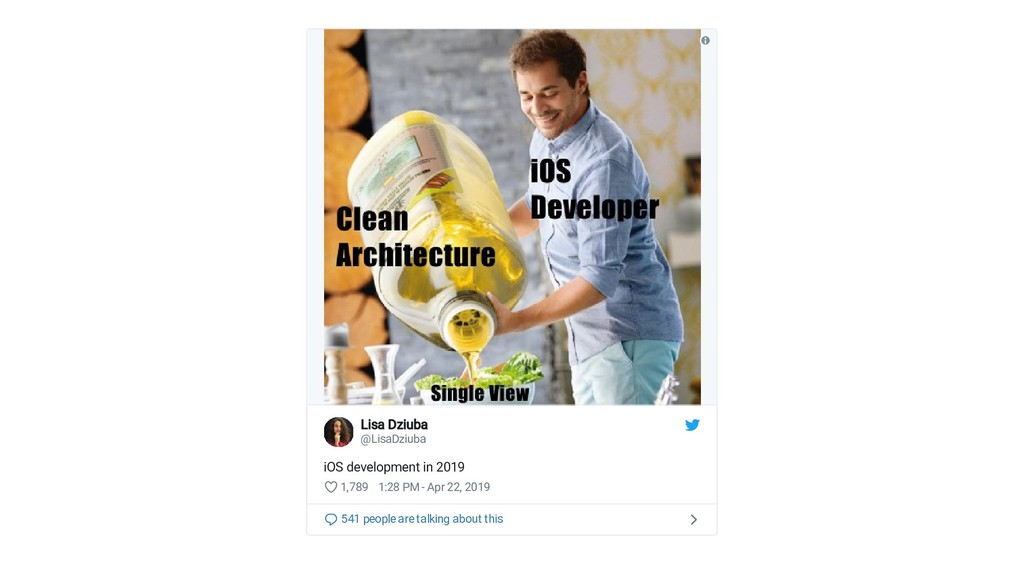 Lisa Dziuba Lisa Dziuba @LisaDziuba iOS develop...