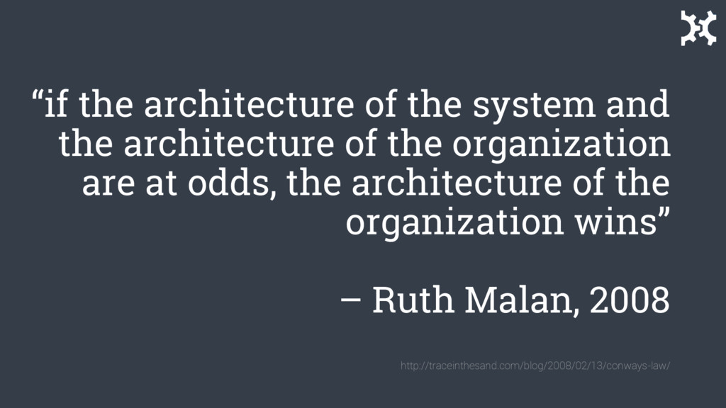 """""""if the architecture of the system and the arch..."""