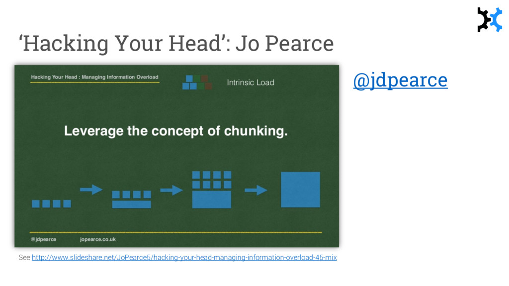 'Hacking Your Head': Jo Pearce See http://www.s...