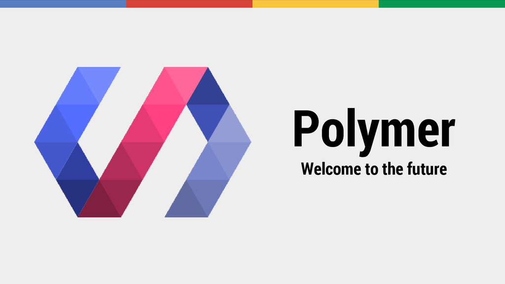 Polymer Welcome to the future