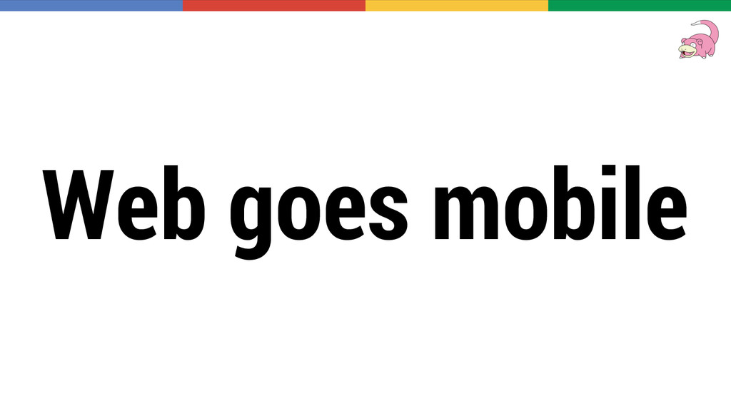 Web goes mobile