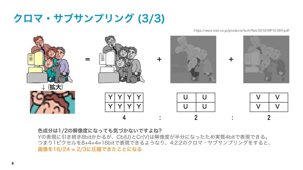 8 ΫϩϚɾαϒαϯϓϦϯά   https://www.eizo.co.jp/prod...