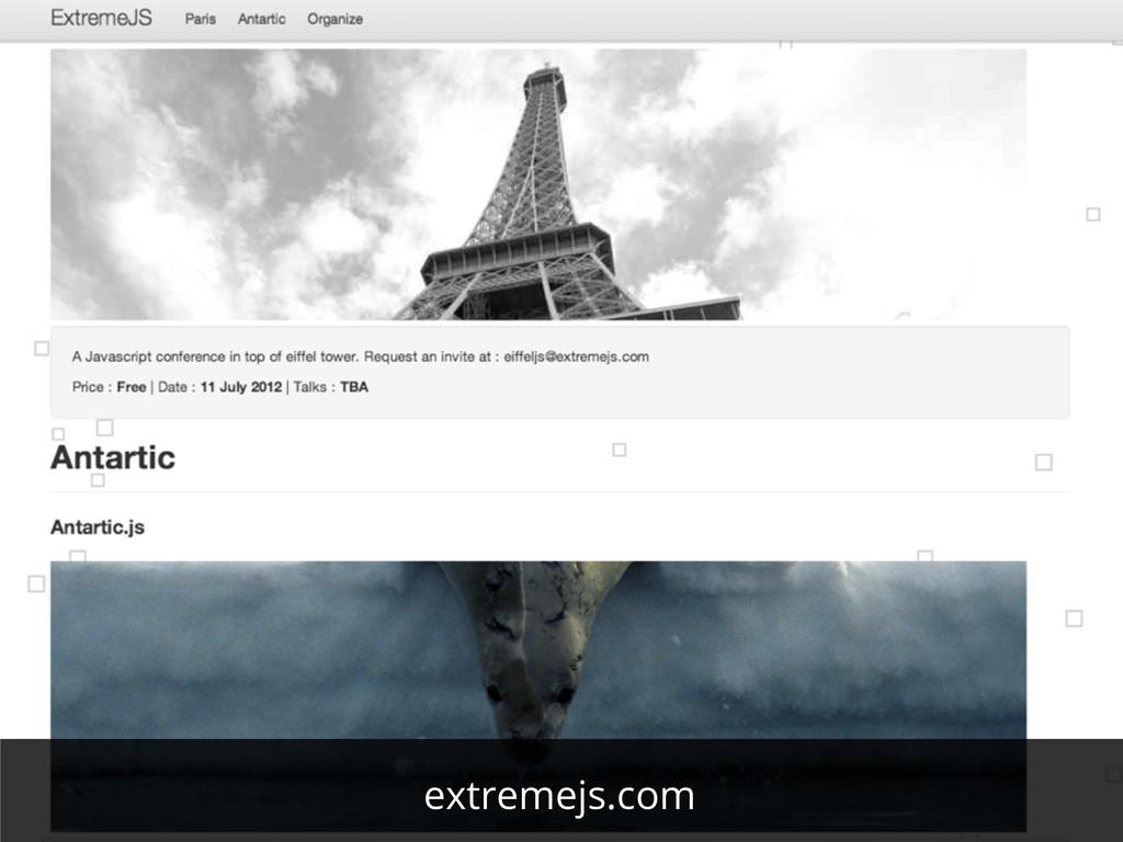 extremejs.com