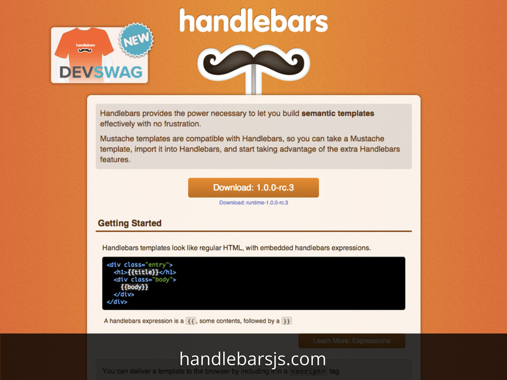 handlebarsjs.com