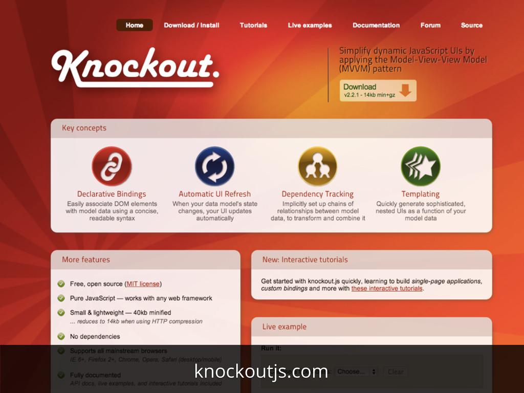 knockoutjs.com