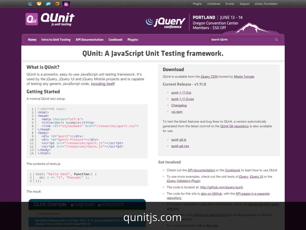 qunitjs.com