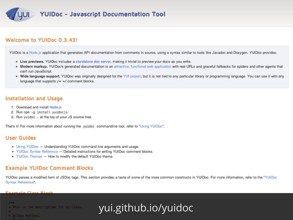 yui.github.io/yuidoc
