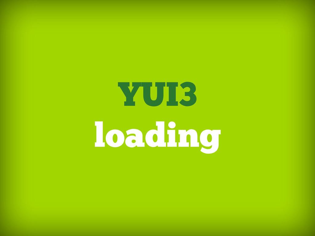 YUI3 loading