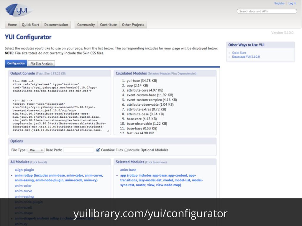 yuilibrary.com/yui/configurator