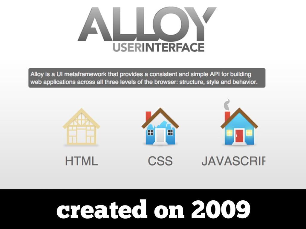 created on 2009
