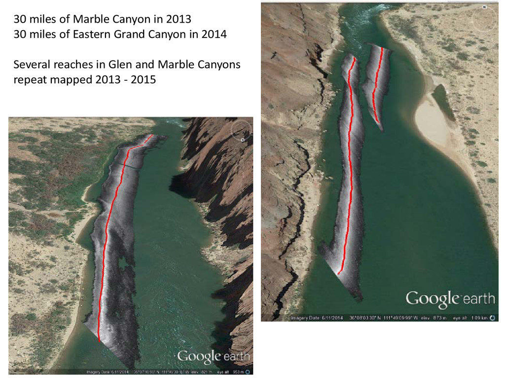 30 miles of Marble Canyon in 2013 30 miles of E...