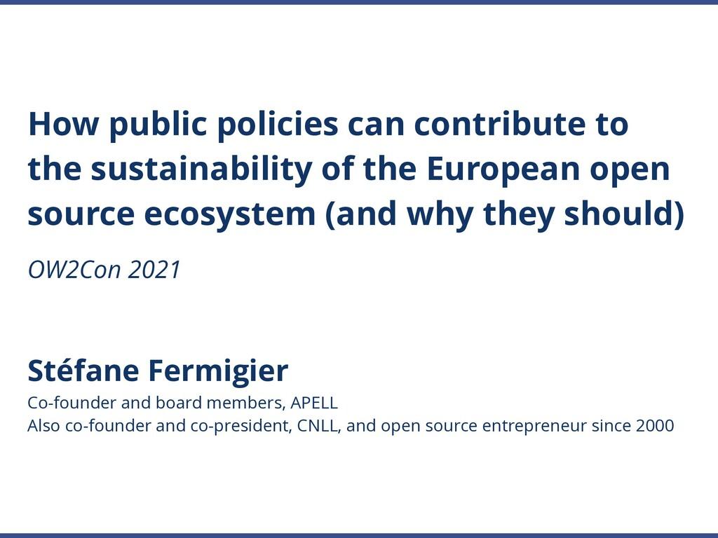 Stéfane Fermigier Co-founder and board members,...