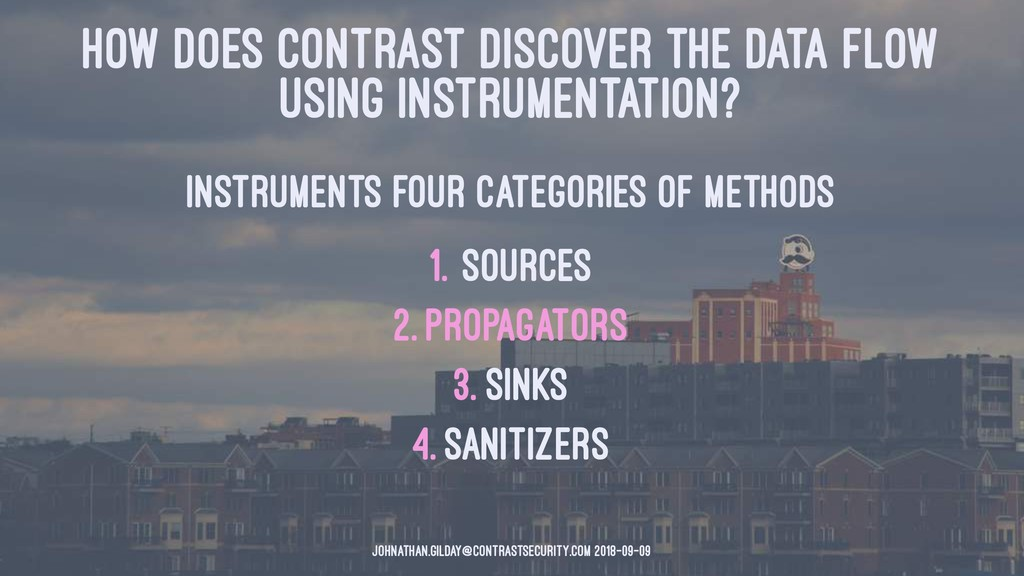 HOW DOES CONTRAST DISCOVER THE DATA FLOW USING ...