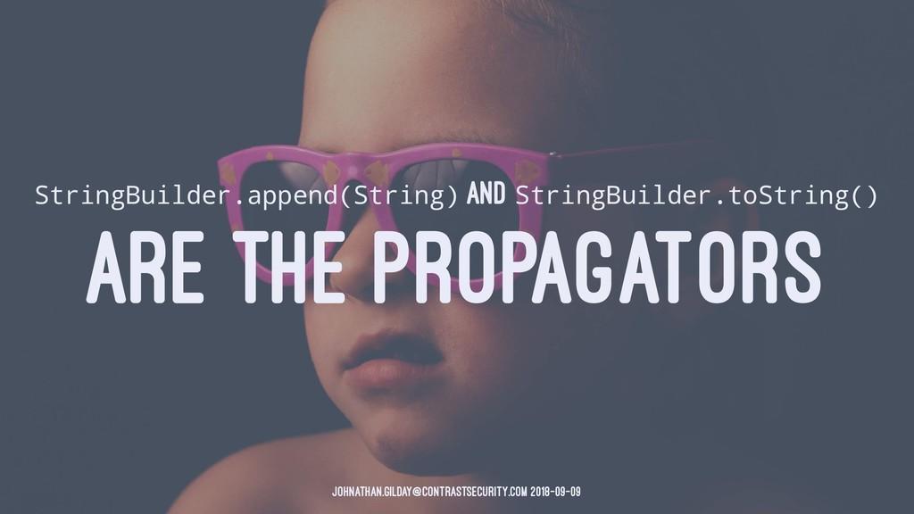 StringBuilder.append(String) AND StringBuilder....