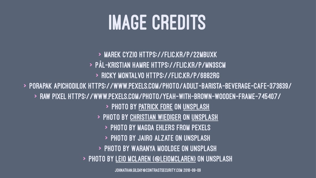 IMAGE CREDITS > Marek Cyzio https://flic.kr/p/2...