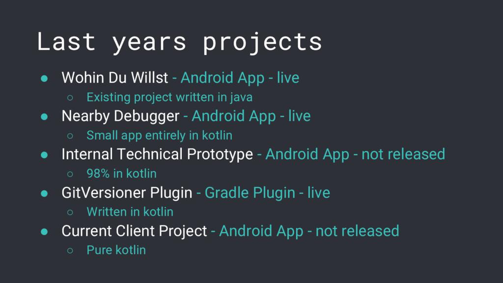 ● Wohin Du Willst - Android App - live ○ Existi...