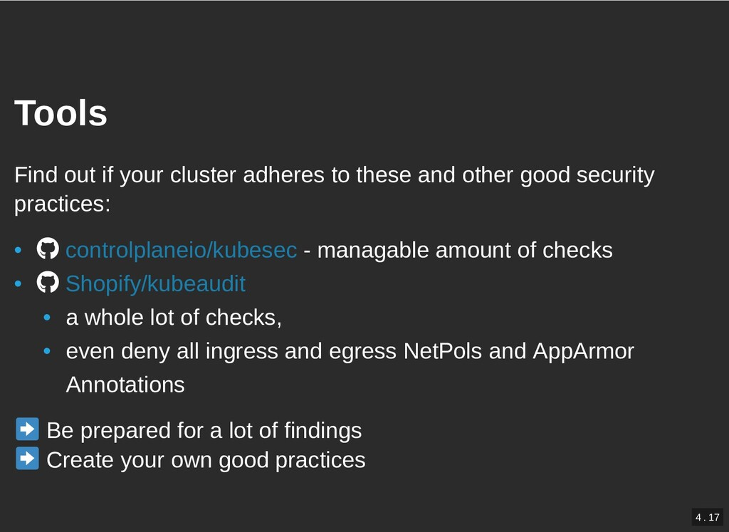 / Tools Tools Find out if your cluster adheres ...