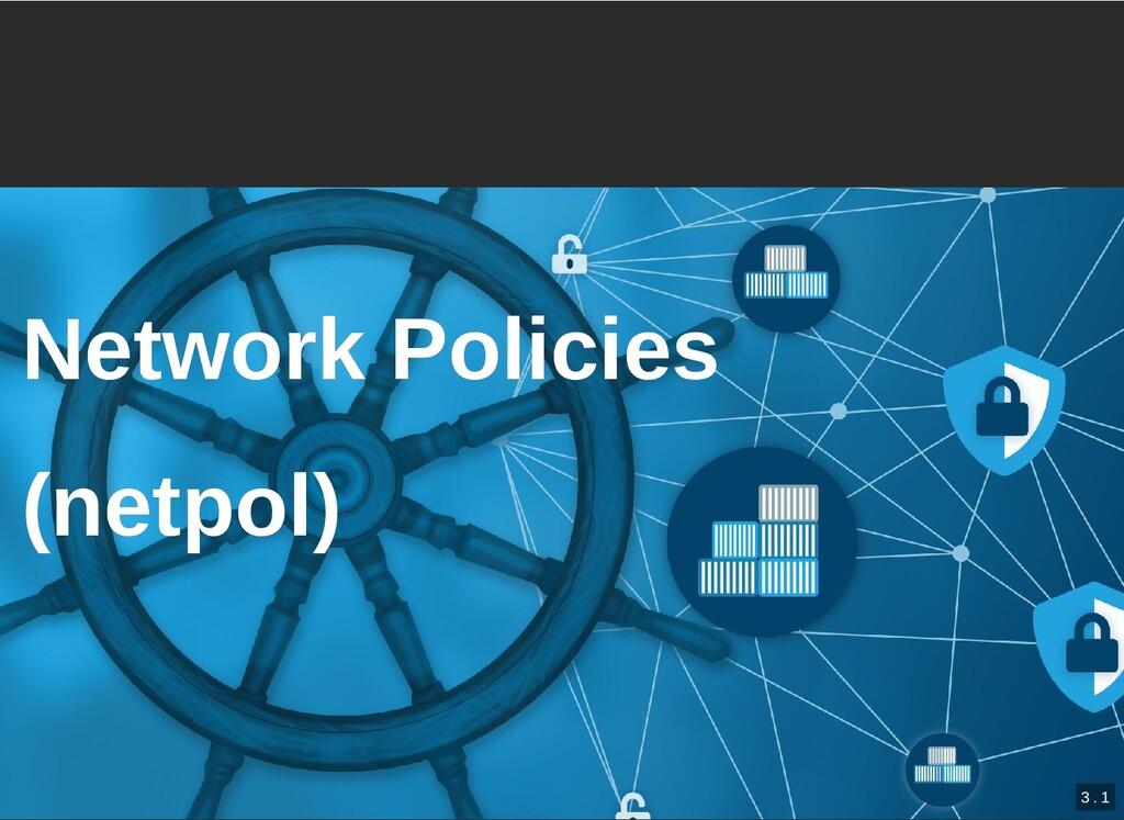 / Network Policies Network Policies (netpol) (n...