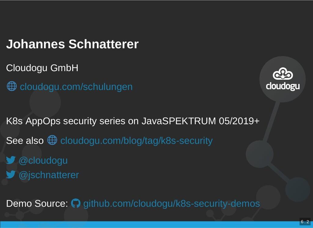 / Johannes Schnatterer Johannes Schnatterer Clo...