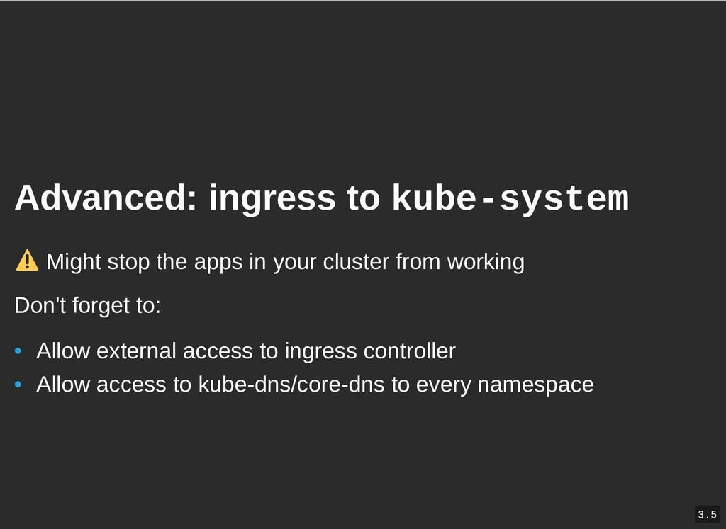 / Advanced: ingress to Advanced: ingress to kub...
