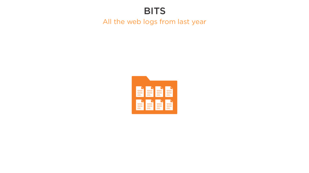 BITS All the web logs from last year