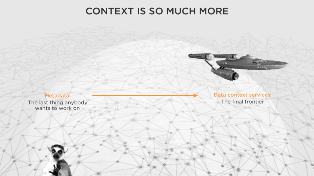 Data context services: The final frontier CONT...