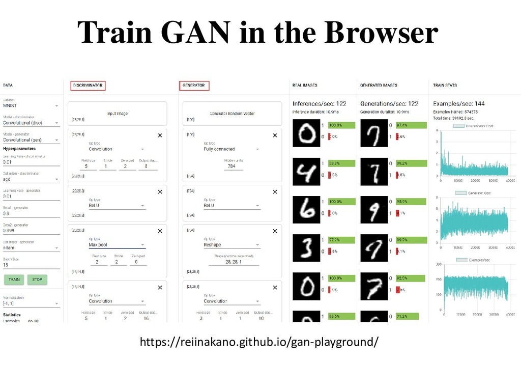 Train GAN in the Browser https://reiinakano.git...