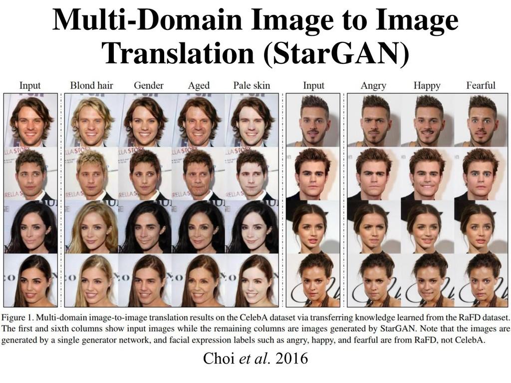 Multi-Domain Image to Image Translation (StarGA...