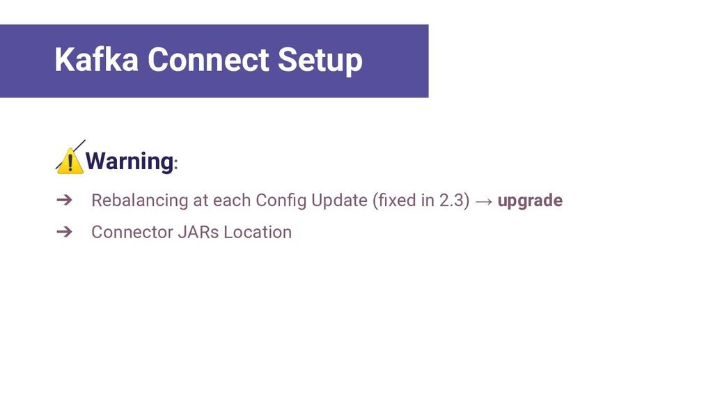 ⚠Warning: ➔ Rebalancing at each Config Update (fi...
