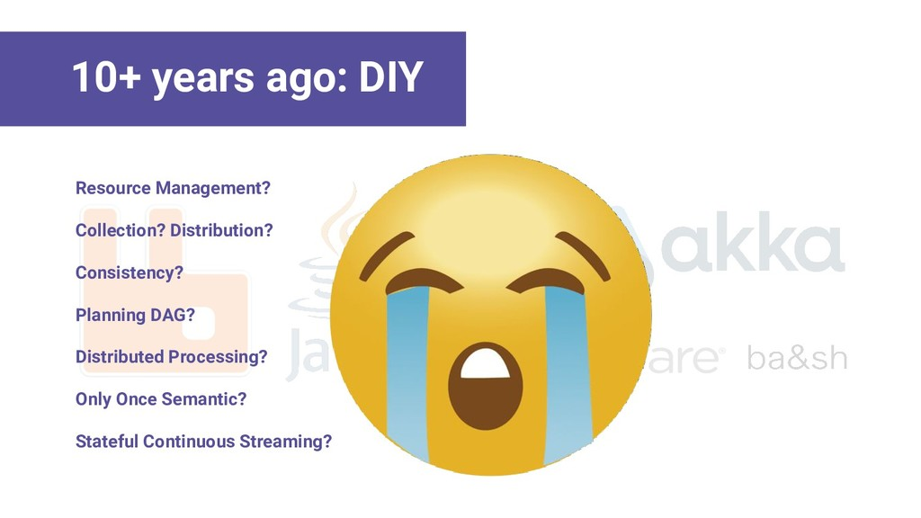 10+ years ago: DIY Resource Management? Collect...
