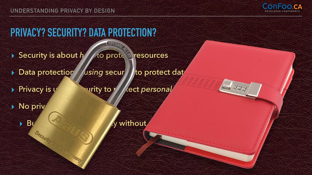 UNDERSTANDING PRIVACY BY DESIGN PRIVACY? SECURI...