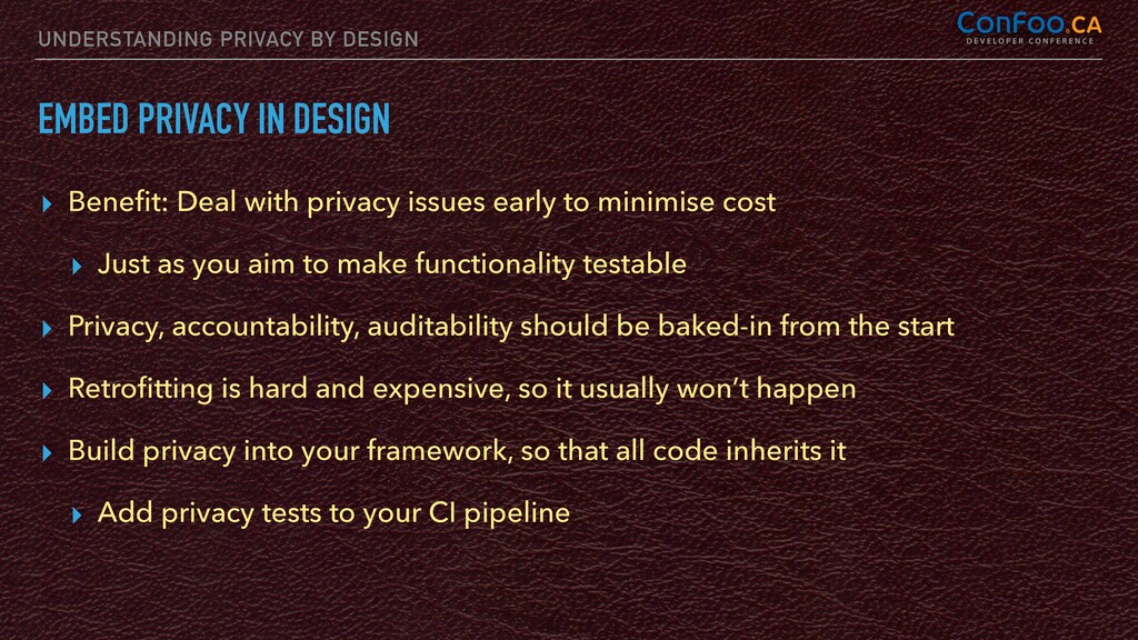 UNDERSTANDING PRIVACY BY DESIGN EMBED PRIVACY I...