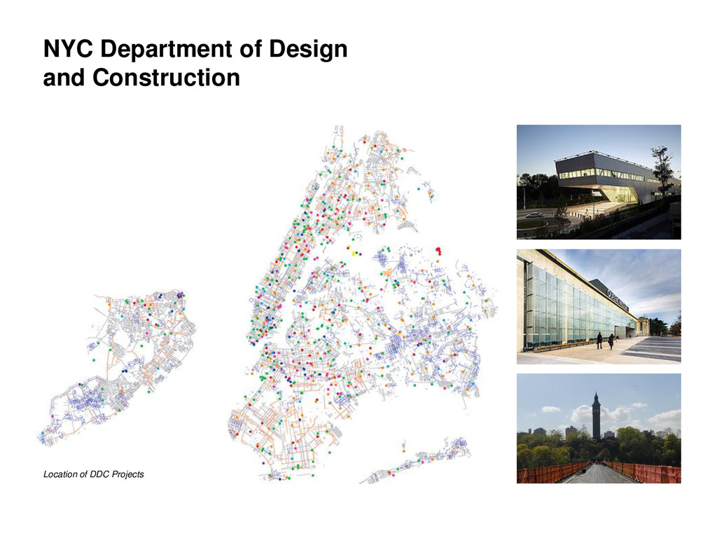 NYC Department of Design and Construction Locat...