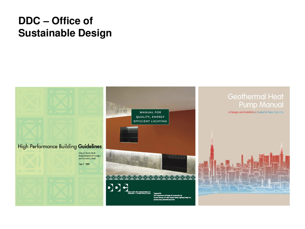 DDC – Office of Sustainable Design