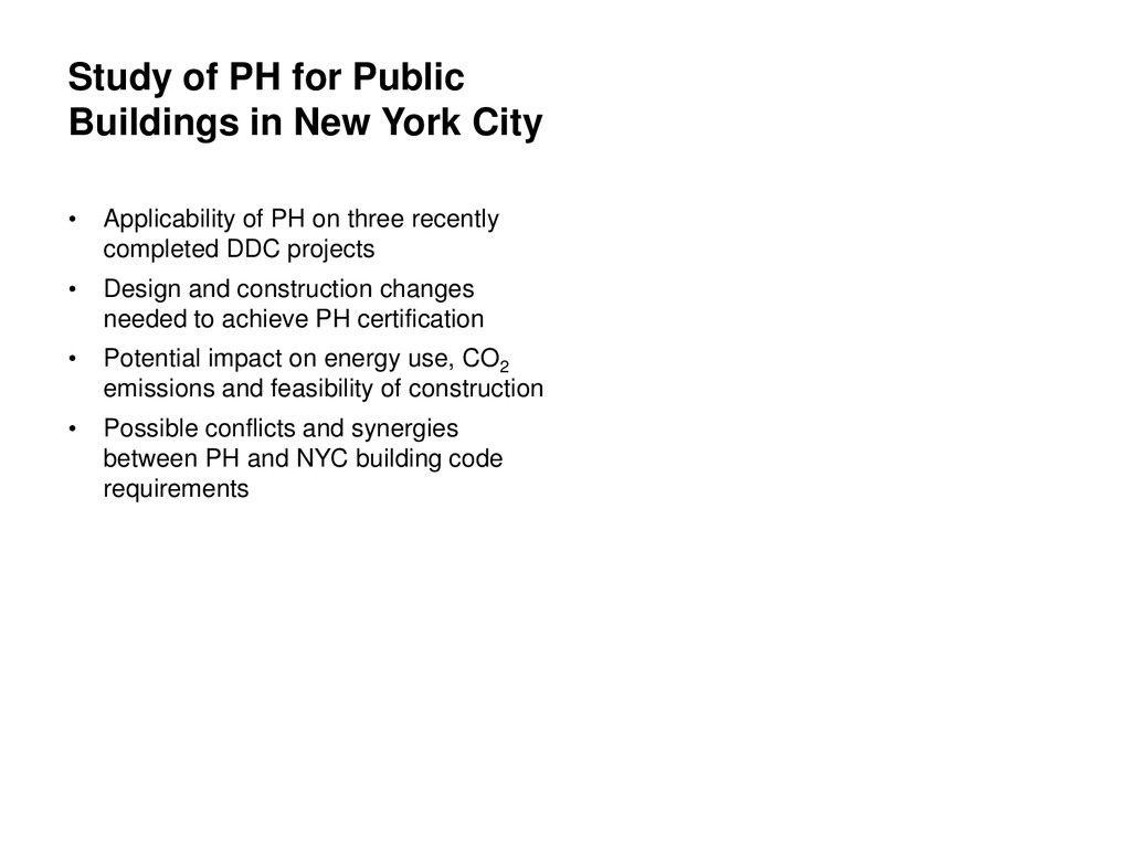 Study of PH for Public Buildings in New York Ci...