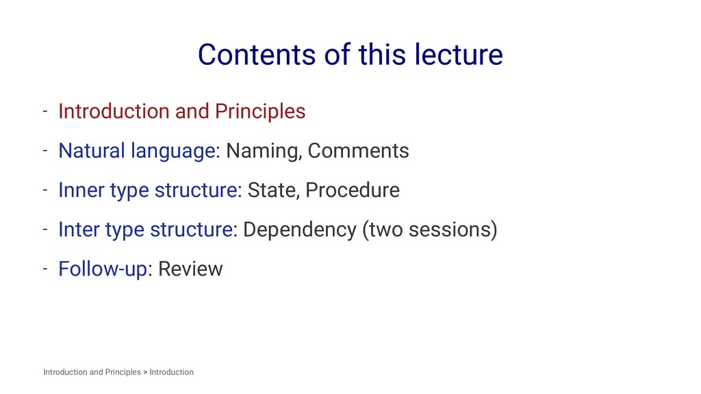 Contents of this lecture - Introduction and Pri...