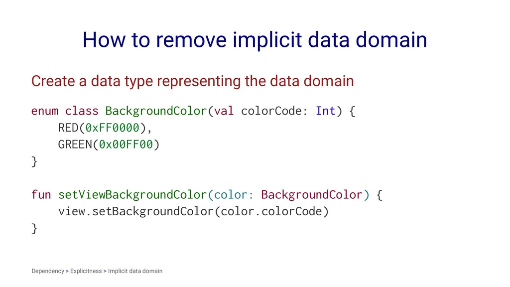 How to remove implicit data domain Create a dat...