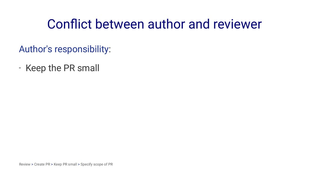 Conflict between author and reviewer Author's re...