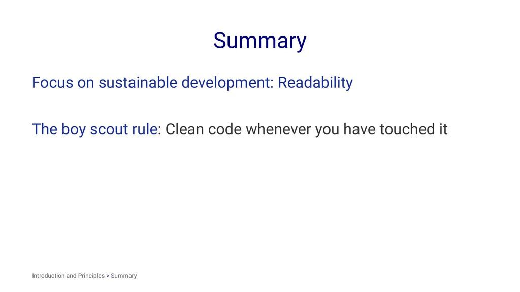 Summary Focus on sustainable development: Reada...