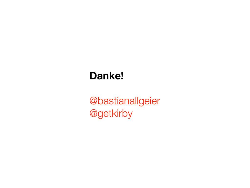 Danke! @bastianallgeier @getkirby