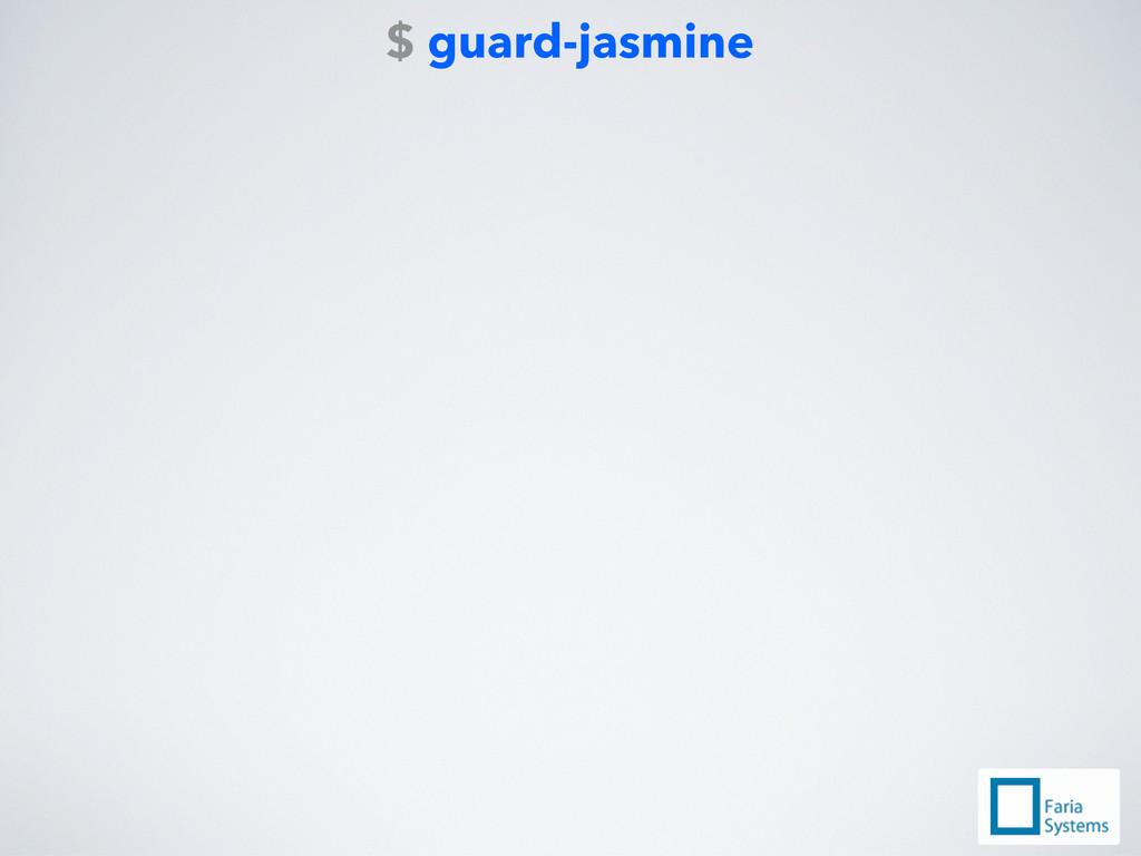 $ guard-jasmine