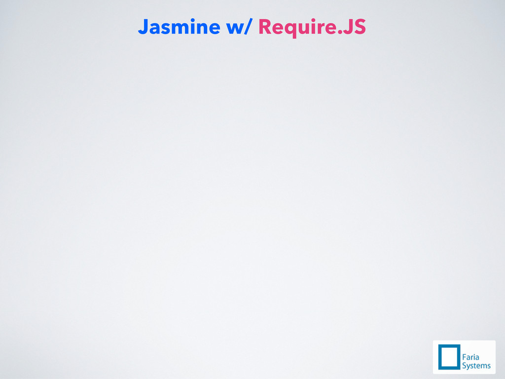 Jasmine w/ Require.JS