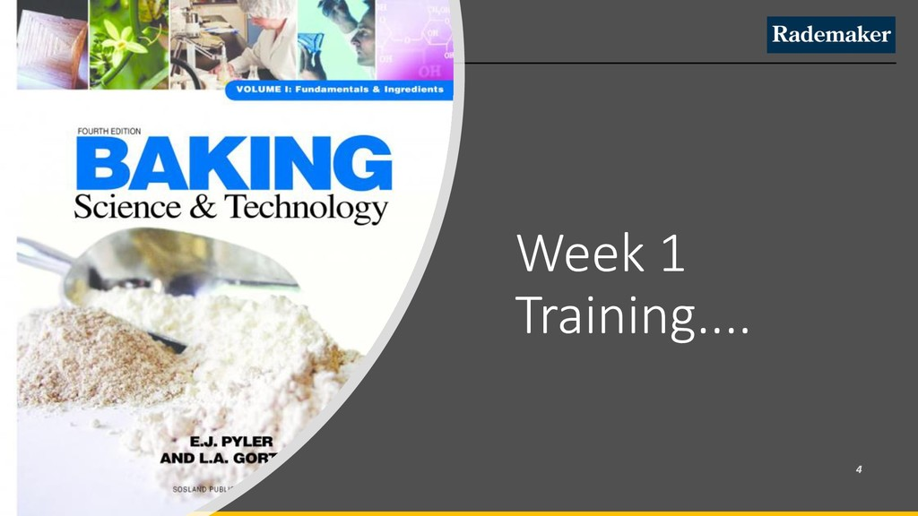 Week 1 Training....