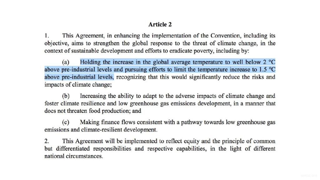UNFCCC 2015