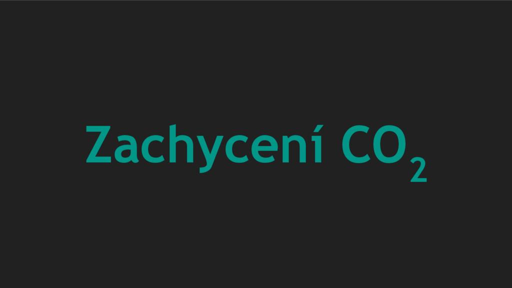 Zachycení CO 2