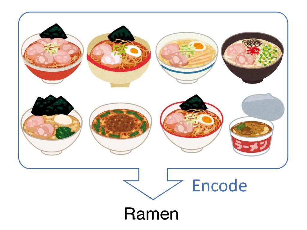 Ramen Encode